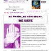 BARNES MARTIAL ARTS TO PRESENT EVENT IN RECOGNITION OF DOMESTIC VIOLENCE AWARENESS MONTH